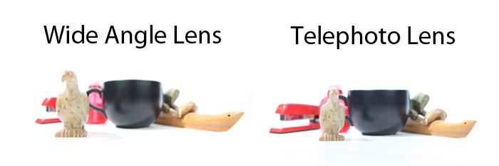 DSLR - Illustration - Lens Effects Side by Side