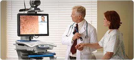 Rubbermaid Healthcare Telemedicine Cart National