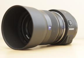 Sony DSC-QX1 with Prime Lens