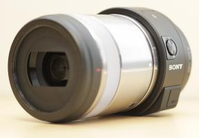 Sony DSC-QX1 with Macro Lens