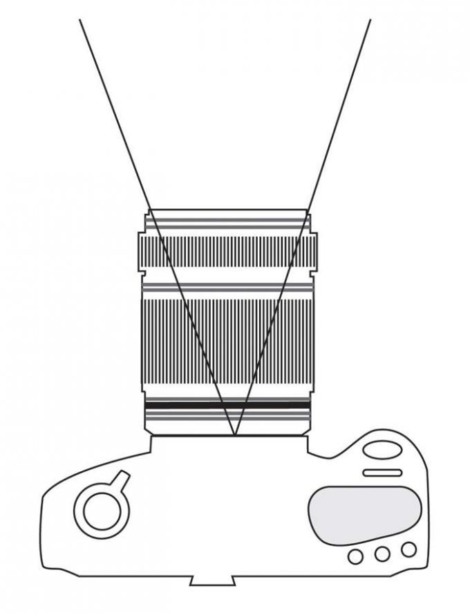 DSLR - Illustration - Camera Telephoto
