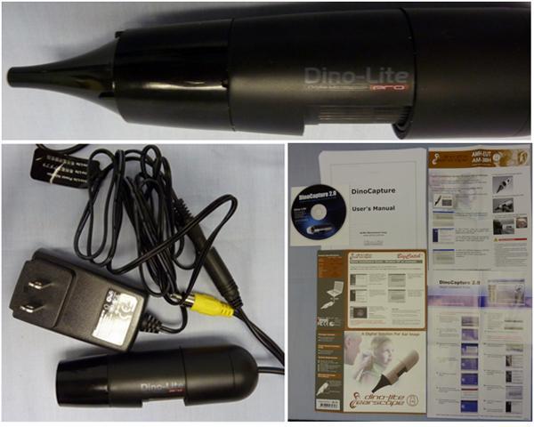 Video Otoscopes at TTAC - MGE DinoLite AMH-EAN TV