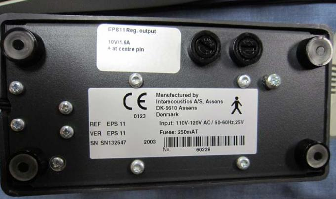 Tympanometers - MT10 - Power Brick - D
