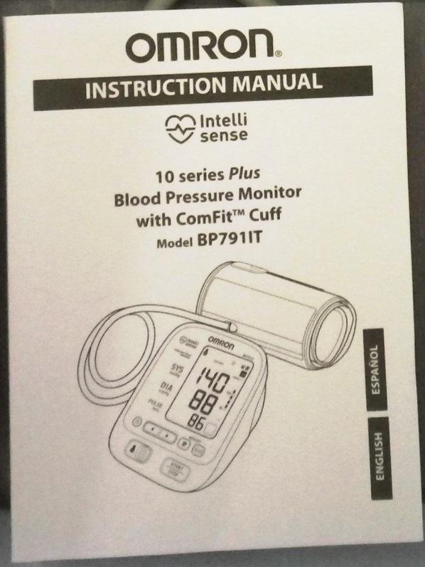 Mobile BP - Omron BP79 IT Instruction Manual