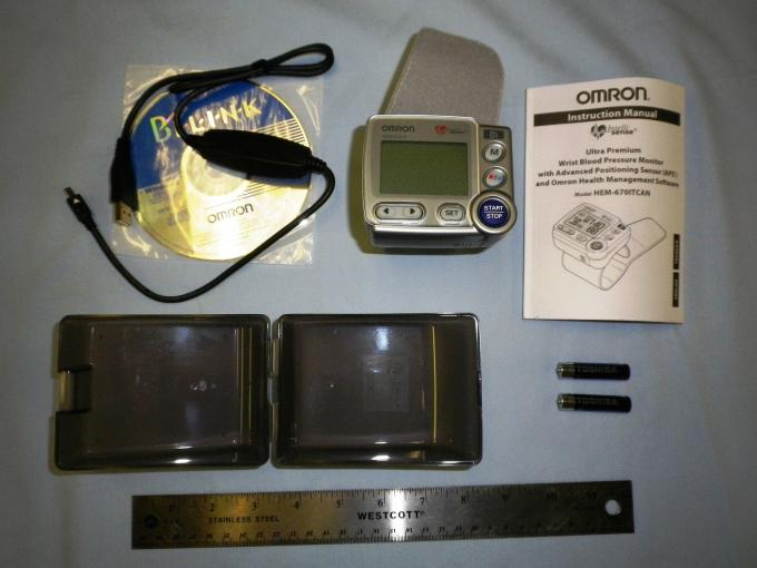 Mobile BP - Omron HEM-670 IT Contents