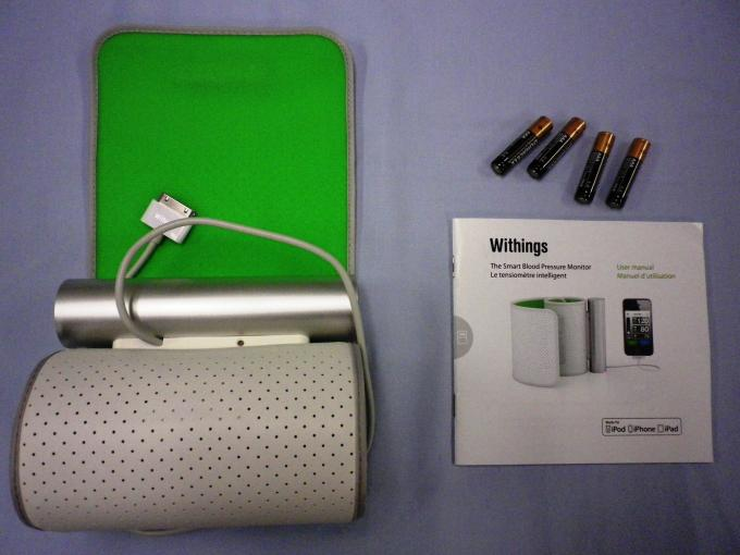 Mobile BP - Withings BP Contents