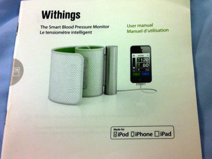 Mobile BP - Withings BP Manual